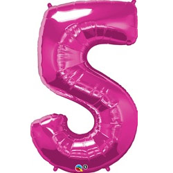 Qualatex Foil Supershape Numbered Balloons