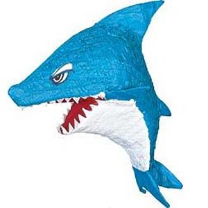 sharkpinata