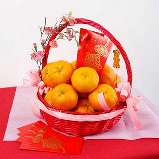 Chinese Fruit Basket