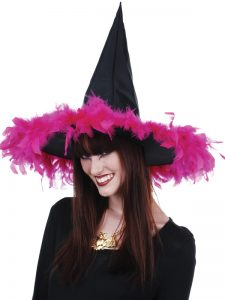 N48751-witch-hat-with-hot-pink-feathers