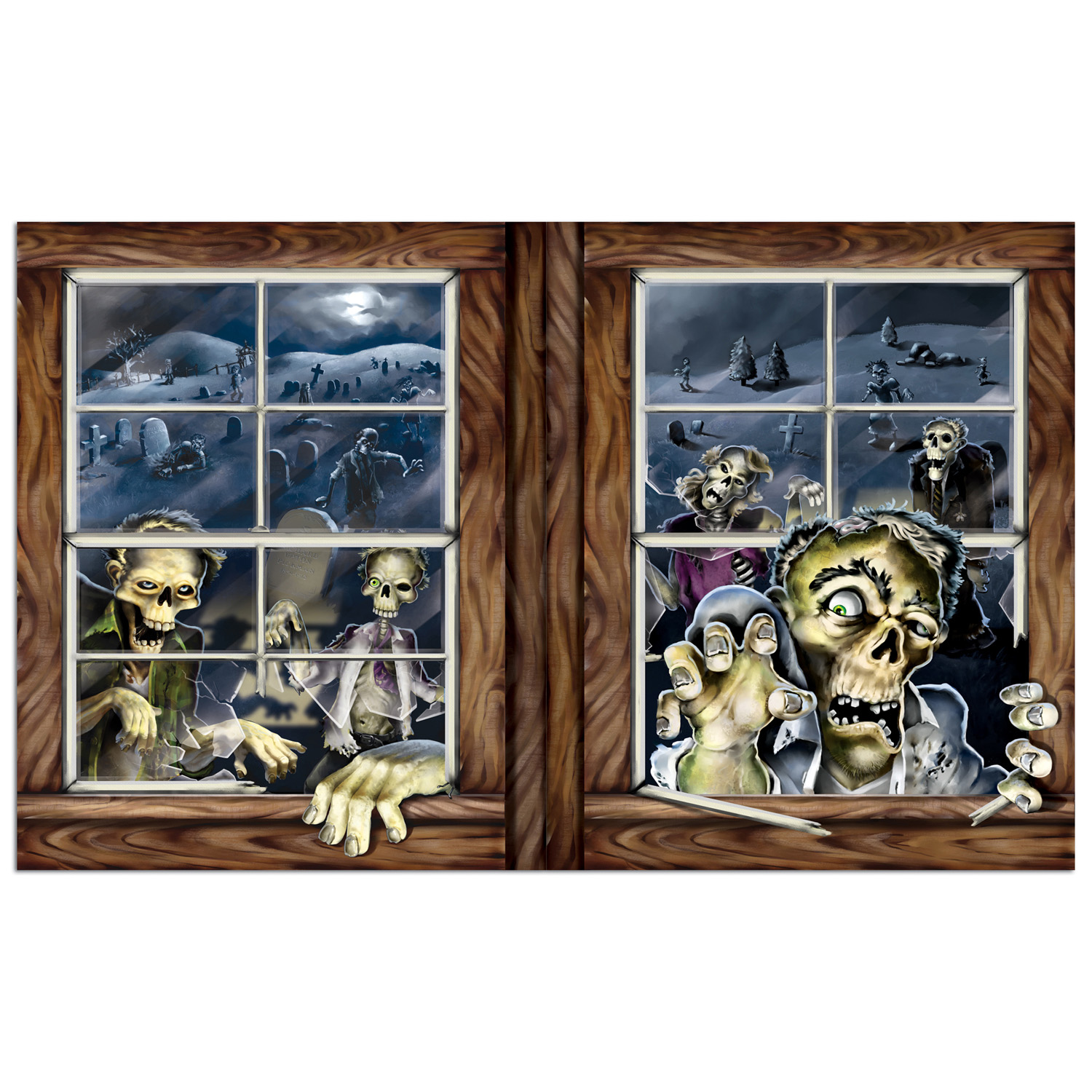 INSTA VIEW - ZOMBIE ATTACK WINDOW PROP
