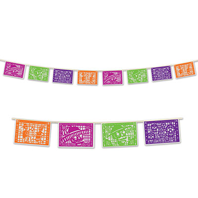 DAY OF THE DEAD MEXICAN PICADO BANNER