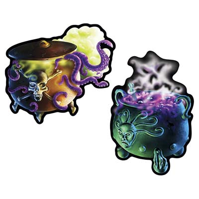 CAULDRON CUT OUTS - PACK OF 2