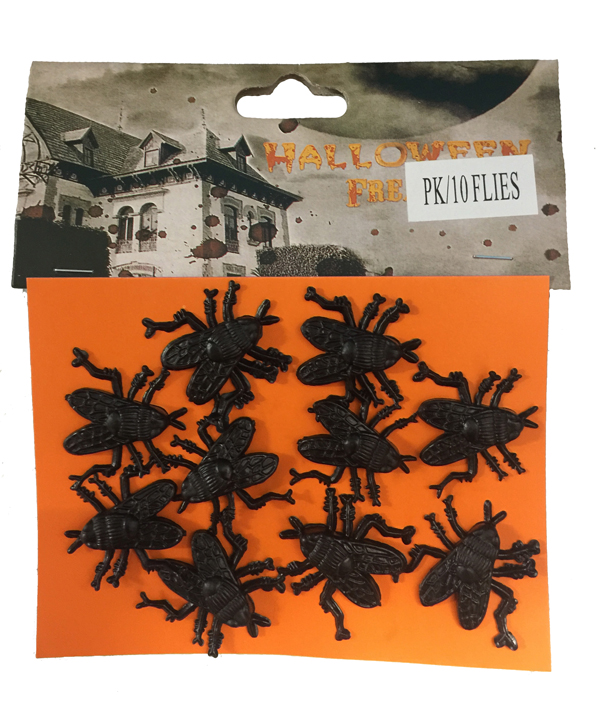 HORROR FLIES - PACK OF 10