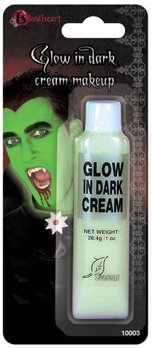 FACE CREAM MAKEUP - GLOW IN THE DARK