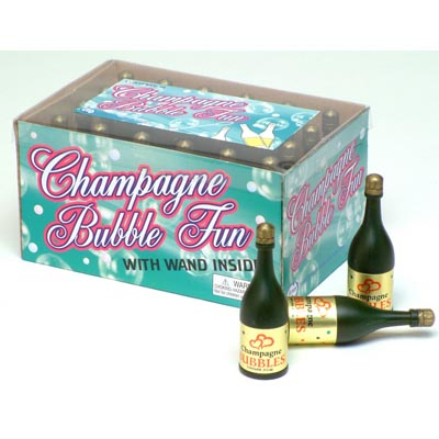PARTY BUBBLES - CHAMPAGNE WEDDING BOTTLES