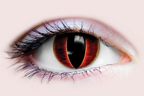 PRIMAL COSTUME CONTACT LENSES - SAURON