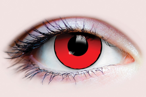 primal costume contact lenses - blood eyes