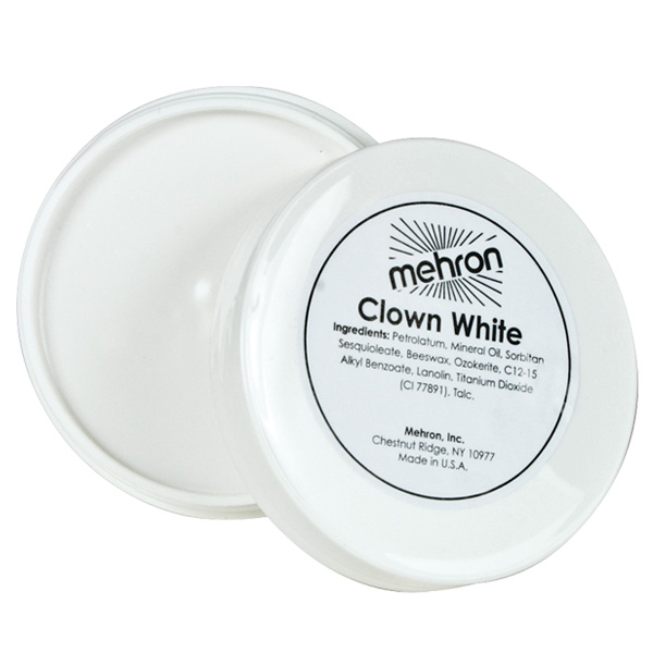 MEHRON CLOWN WHITE - LARGE 200G