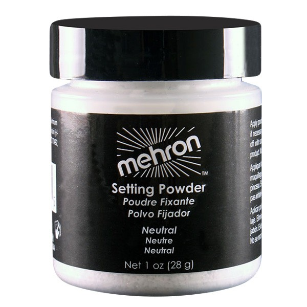 MEHRON ULTRA FINE SETTING POWDER - NEUTRAL - 28 GRAM