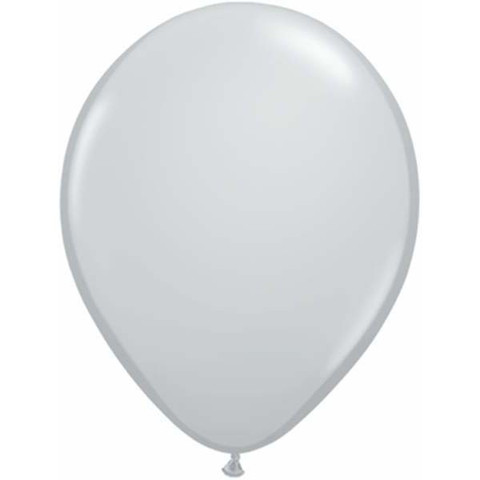 BALLOONS LATEX - GREY FASHION TONE PACK 25