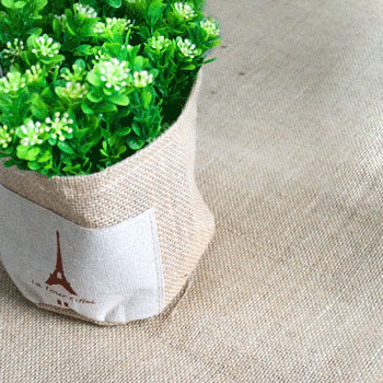 NATURAL HESSIAN TABLECOVER