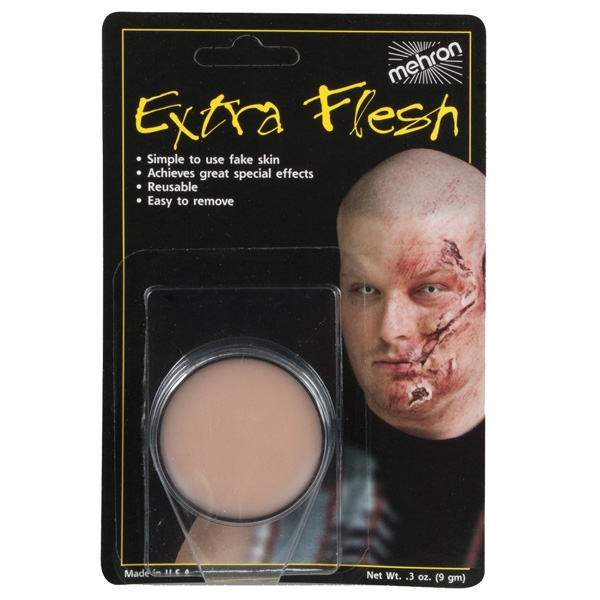 MEHRON EXTRA FLESH WAX COMPOUND