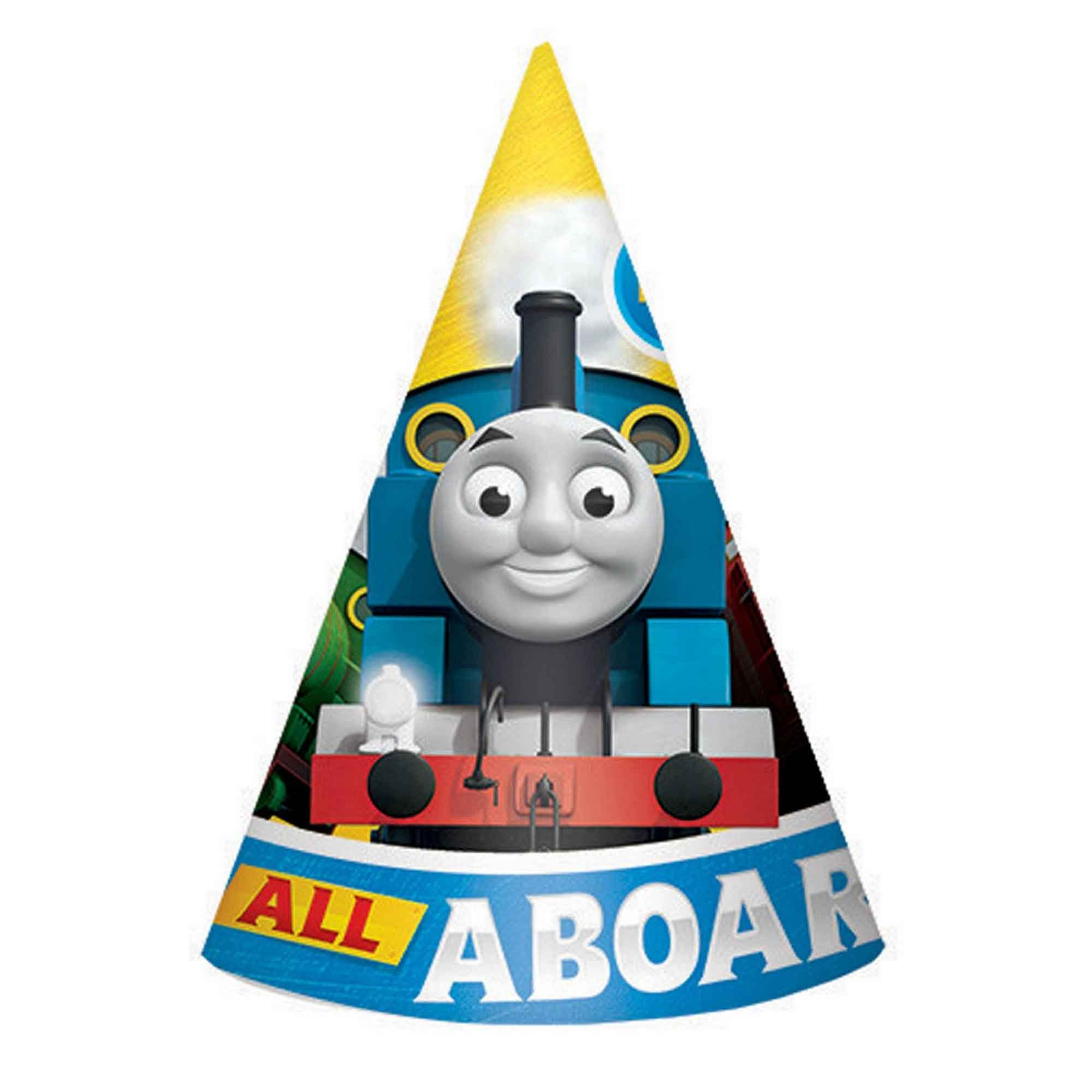 THOMAS THE TANK HATS - PACK OF 8