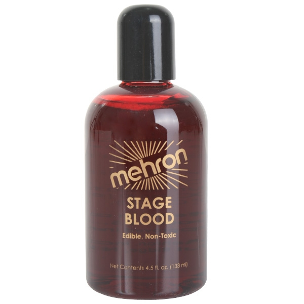 MEHRON STAGE BLOOD BRIGHT RED 133ml
