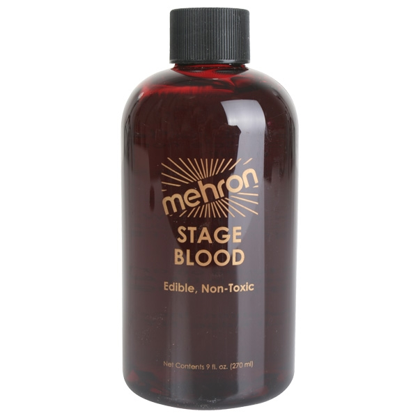 MEHRON STAGE BLOOD BRIGHT RED 270ML