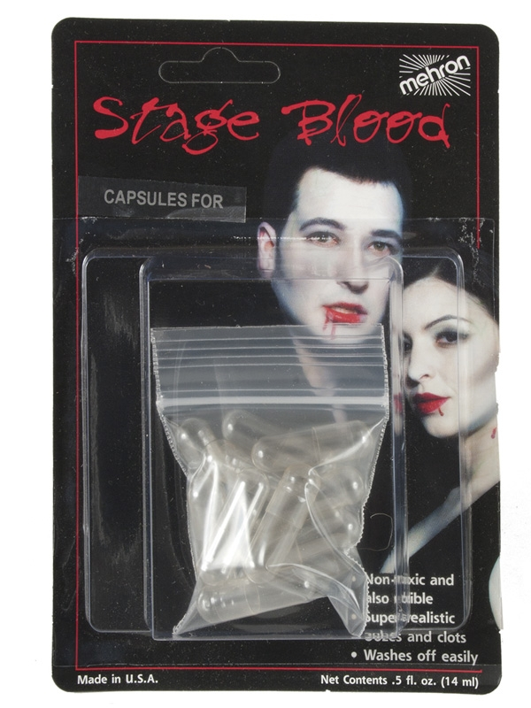 MEHRON BLOOD CAPSULES EMPTY PACK OF 12