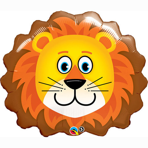 FOIL SUPER SHAPE BALLOON - LOVABLE LION