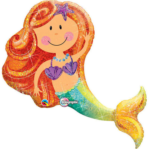 FOIL SUPER SHAPE BALLOON - MERMAID
