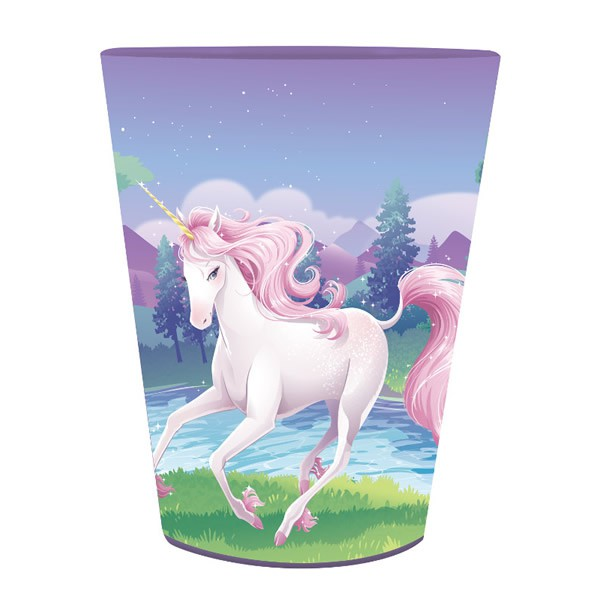 UNICORN FANTASY PLASTIC PARTY FAVOUR CUP