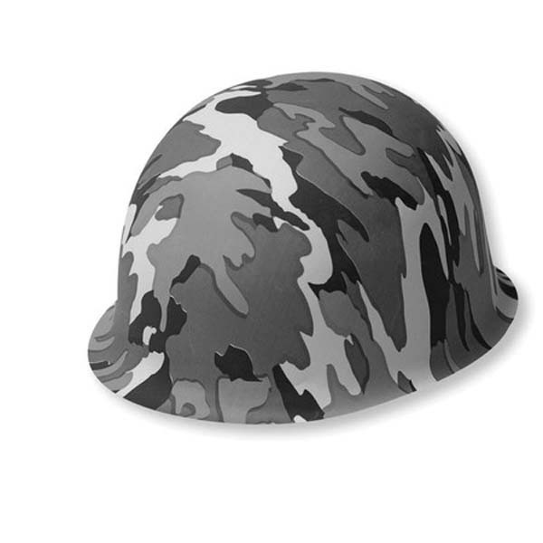 Image of Army Camouflage Kids Hard Hat