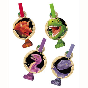 DINO BLAST BLOWOUTS PACK OF 8