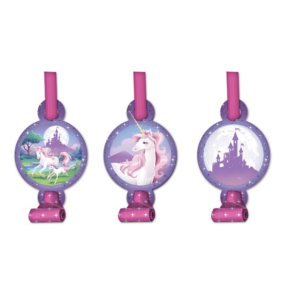 UNICORN FANTASY BLOWOUTS - PACK OF 8