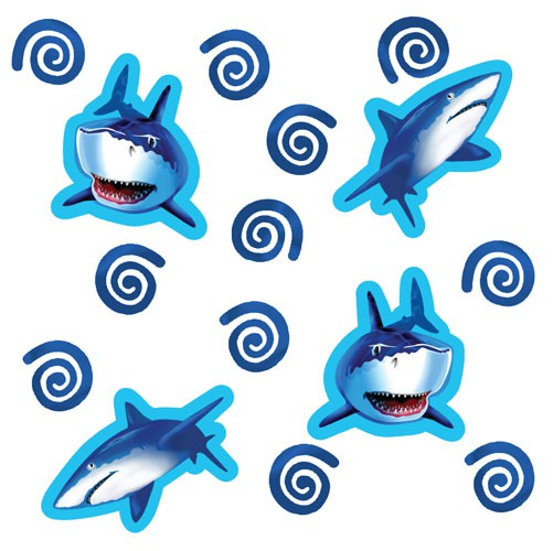SHARK SPLASH CONFETTI/SCATTERS