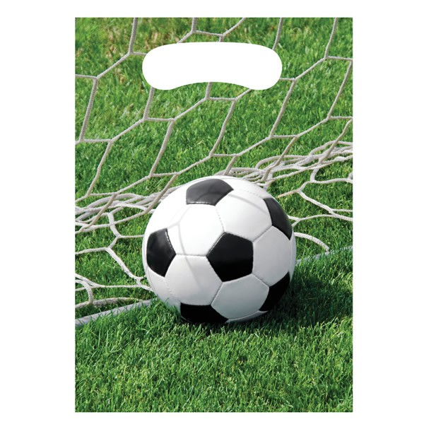 SOCCER FANATIC LOOT BAGS PACK OF 8