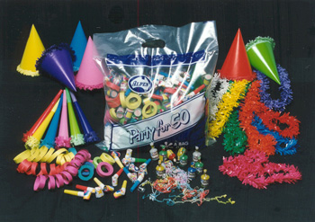 NEW YEARS EVE ECONOMY PARTY PACK FOR 50