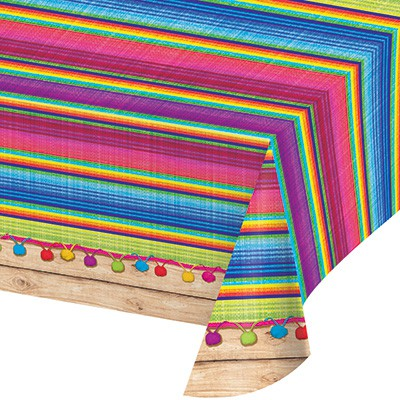 MEXICAN BLANKET \'SERAPE\' TABLECOVER
