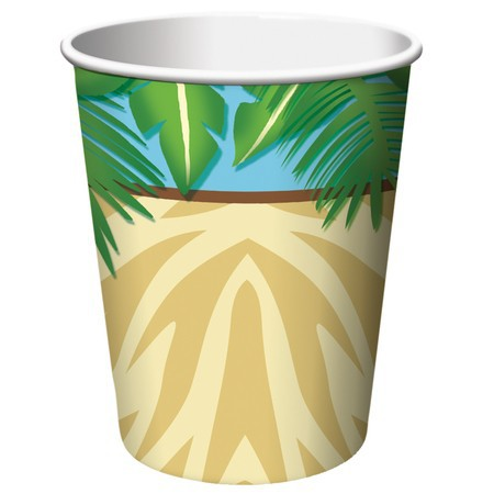 JUNGLE SAFARI ADVENTURE CUPS - PACK OF 8