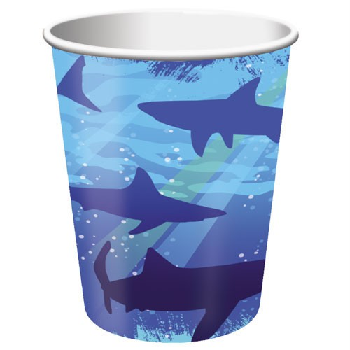 SHARK SPLASH CUPS - PACK OF 8