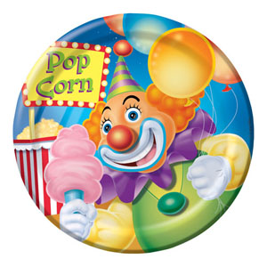 BIG TOP LUNCHEON PLATES PACK OF 8