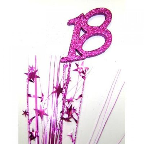 SPANGLE 18TH BIRTHDAY PINK