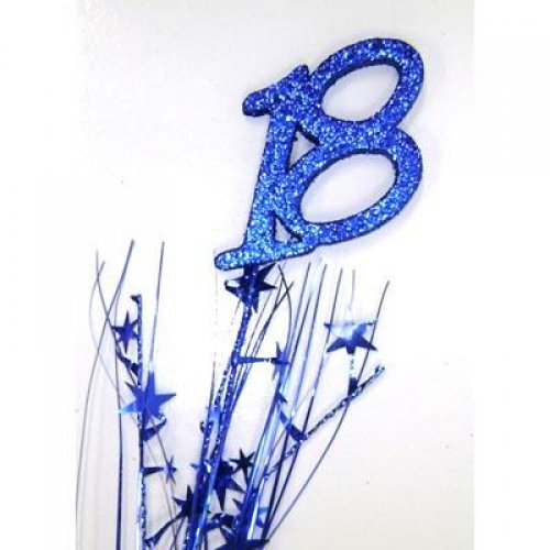 SPANGLE 18TH BIRTHDAY BLUE
