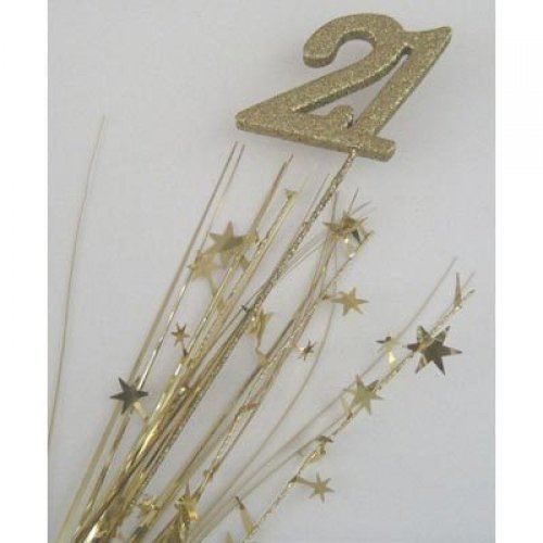 SPANGLE 21ST BIRTHDAY - GOLD