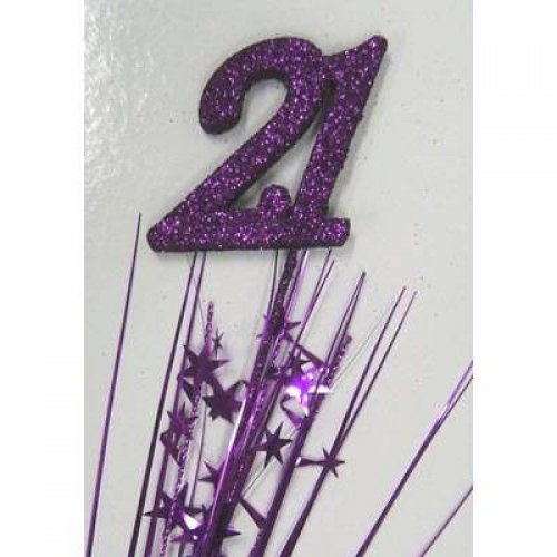 SPANGLE 21ST BIRTHDAY - PURPLE