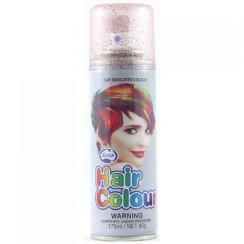 GLITTER MULTI COLOURED HAIR SPRAY BULK BUY BOX OF 12