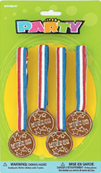 WINNERS MEDALS PACK OF 4
