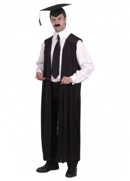 TEACHERS, GRADUATION, JUDGE OR BARRISTERS UNISEX GOWN