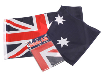 AUSTRALIAN FLAG POLE FLAG - LARGE
