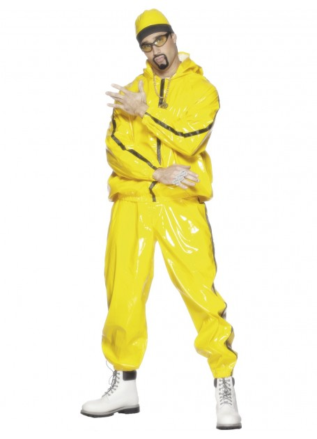 ALI G RAPPER FANCY DRESS COSTUME LARGE