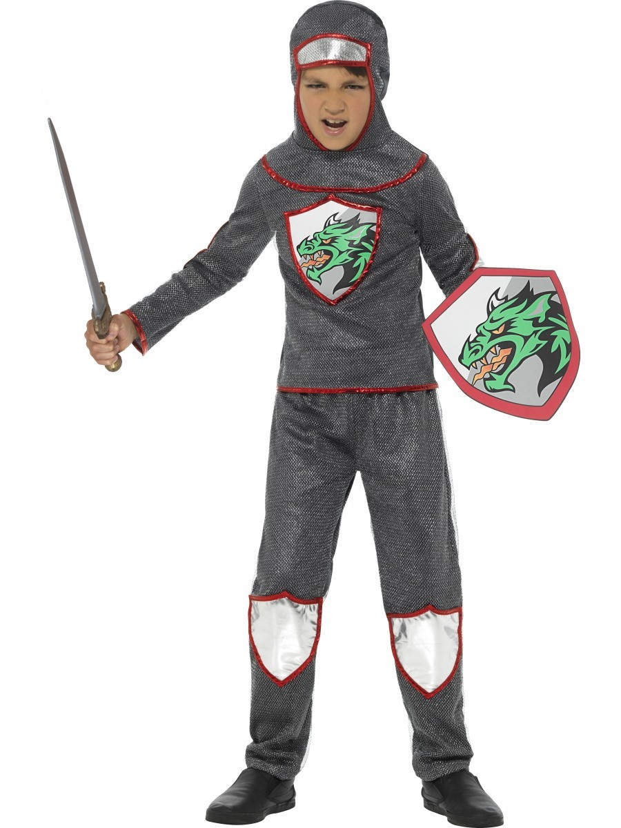 KNIGHT CHILD'S COSTUME DELUX - LARGE