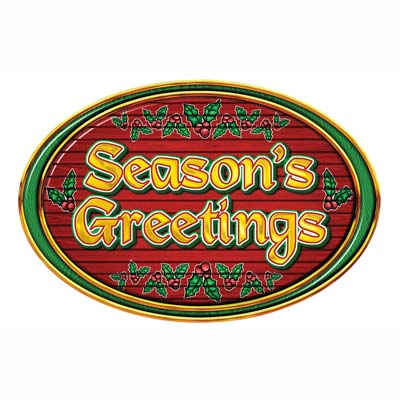 SEASON GREETINGS SIGN