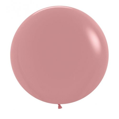 "BALLOONS LATEX - 24""/60CM ROSEWOOD - PACK OF 4"