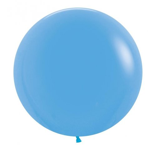 "BALLOONS LATEX - 24""/60CM BLUE - PACK OF 4"