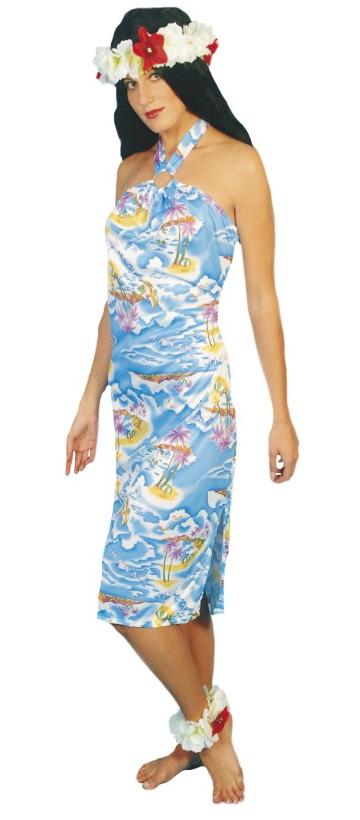 Hawaiian Mini Dress