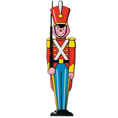 TOY SOLDIER CUT OUT - 90CM