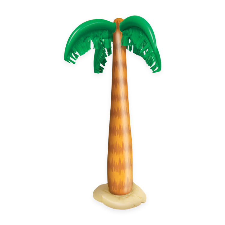 INFLATABLE PALM TREE 86CM HIGH